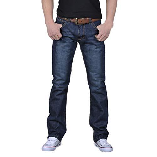 Smallwin Men Elastic Waist Plus Size Linen Vintage Drawstring Wide Leg Pants